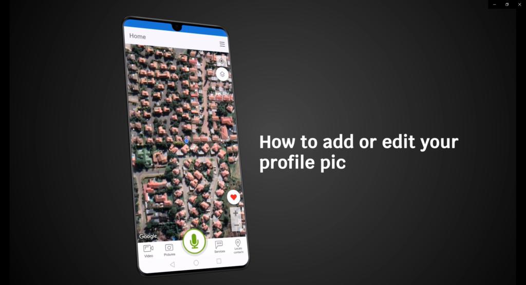 Managing your profile