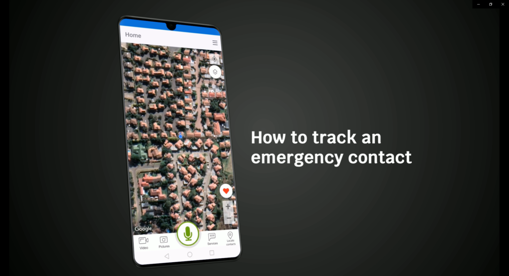 Emergency contact tracking